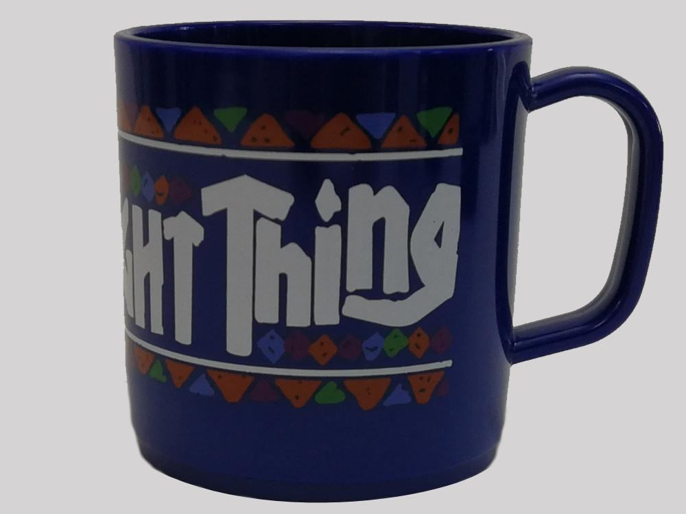 Proper Brew The Right Thing Mug Blue
