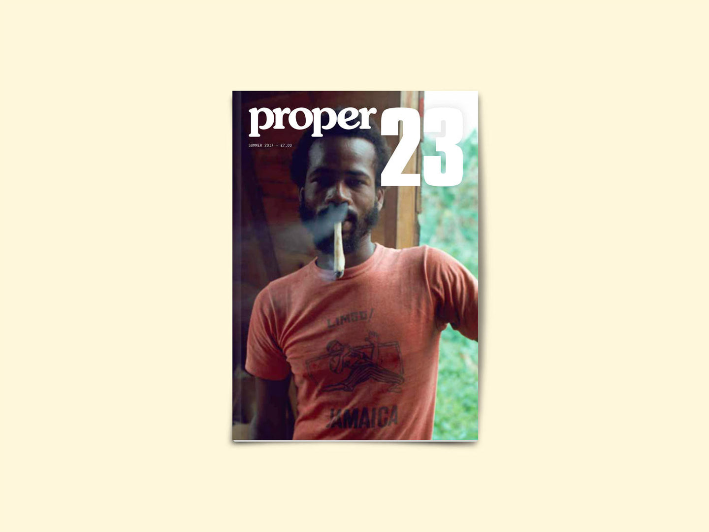 Proper Magazine Issue 23 - Family Acid Jamaica Cover