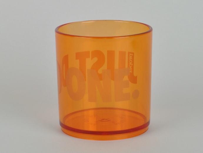 Proper Just Do One Stealth Tumbler Orange