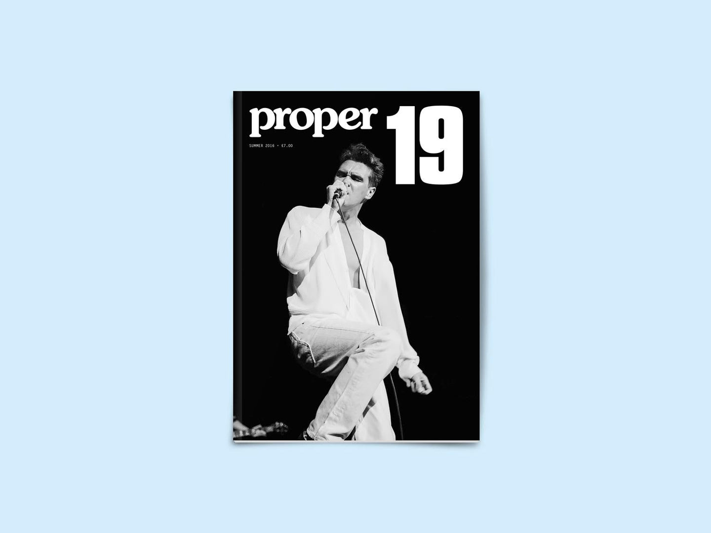 Proper Magazine Issue 19 - Morrissey Cover (MAGP19C)