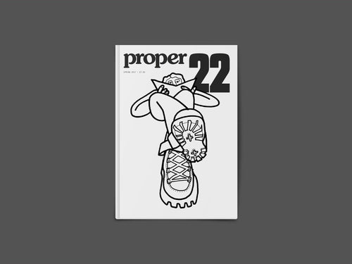 Proper Magazine Issue 22 - Holubar Cover
