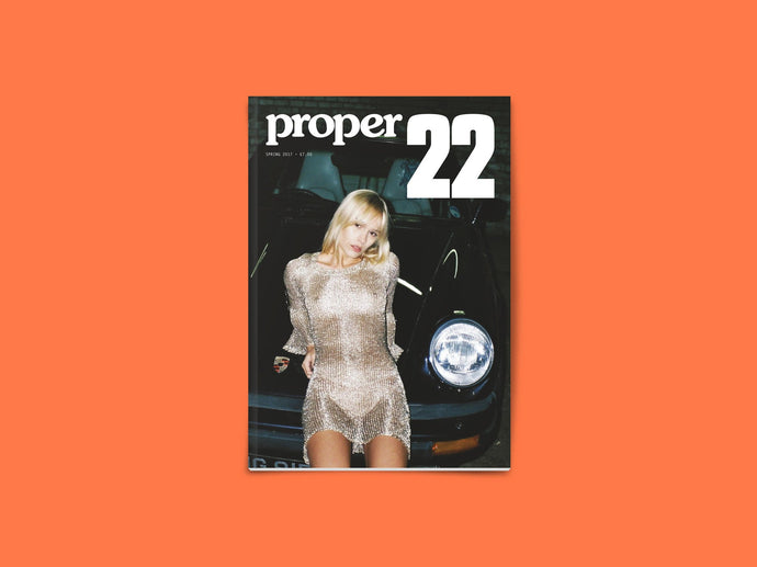 Proper Magazine Issue 22 - Off The Rails Cover