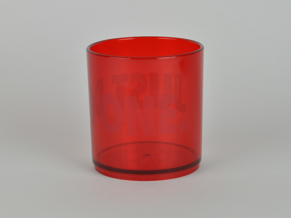 Proper Just Do One Stealth Tumbler Red