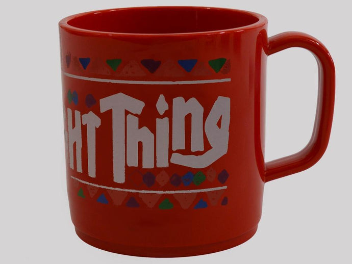 Proper Brew The Right Thing Mug Red