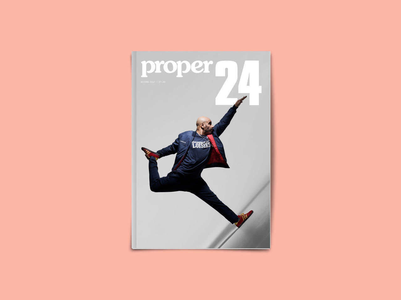 Proper Magazine Issue 24 - Goldie Cover