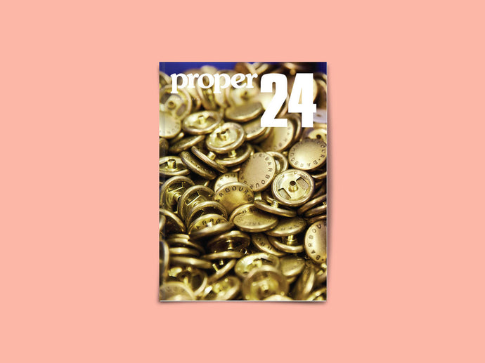 Proper Magazine Issue 24 - Barbour Cover