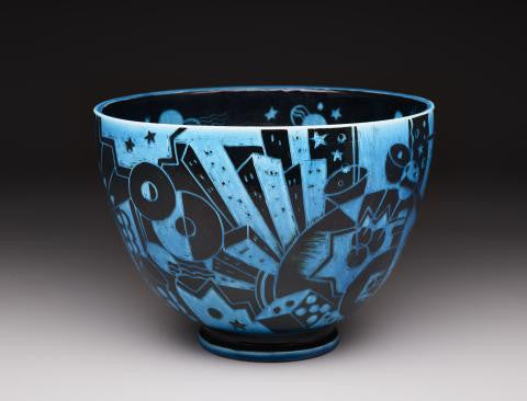 New York Bowl. Dallas Art Museum. USA