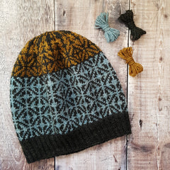 Project Inspiration - Binsoe Hat + Pip Colourwork