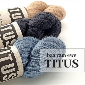 Baa Ram Ewe Titus - Local Fibre, Local Yarn