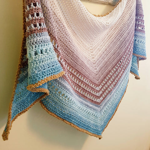 Keep Calm Shawl - Two Stix Studios