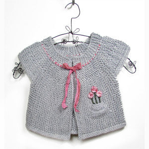 Baby Cardigan - London Cardigan by Two Stix Studios