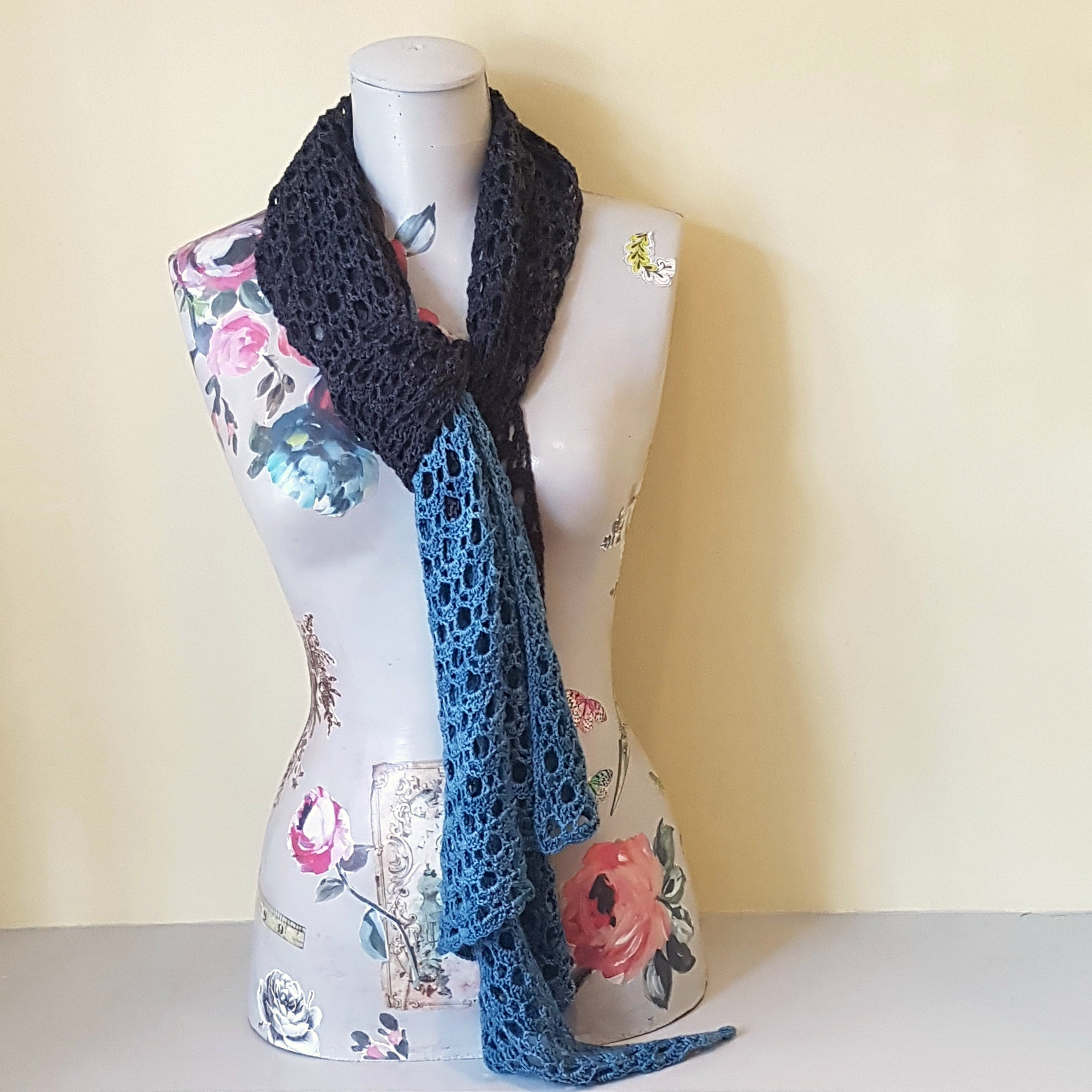 Two Colour Scarf/Wrap