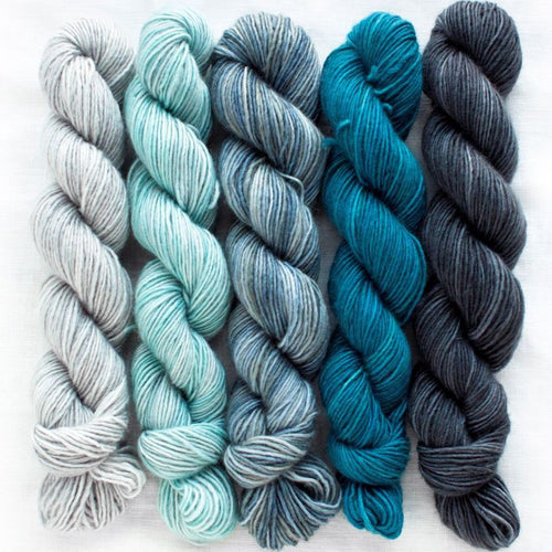 Manos del Uruguay Silk Blend Fino Mini Skein Set - Augusta