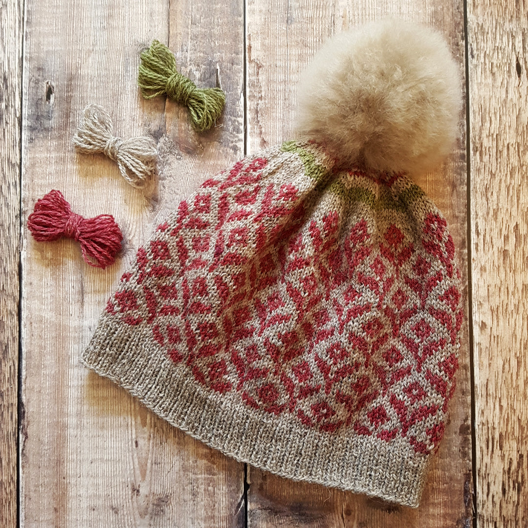 Ultimate Knit Kit - HFS Bloom Hat