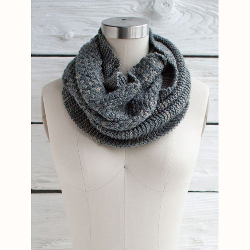 Free Knitting Pattern - Manos del Uruguay Cesta Cowl - Downloadable PDF