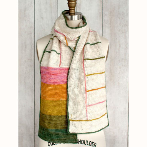 Free Knitting Pattern - Manos del Uruguay Charnley Scarf - Downloadable PDF