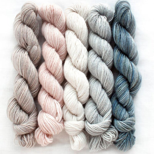 Manos del Uruguay Silk Blend Fino Mini Skein Set - Clarissa