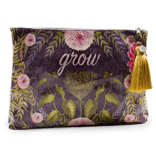 Grow Large Pouch with Tassel