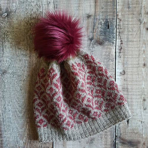 HFS Pattern + Yarn + Pom Pom Kit - Bloom Hat