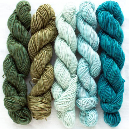 Manos del Uruguay Silk Blend Fino Mini Skein Set - Flora