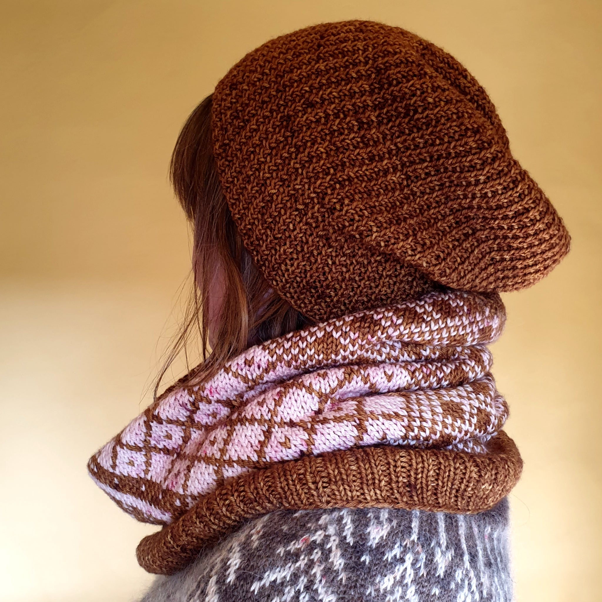 Bridge End Cowl Pattern - HFS Original - Downloadable PDFs