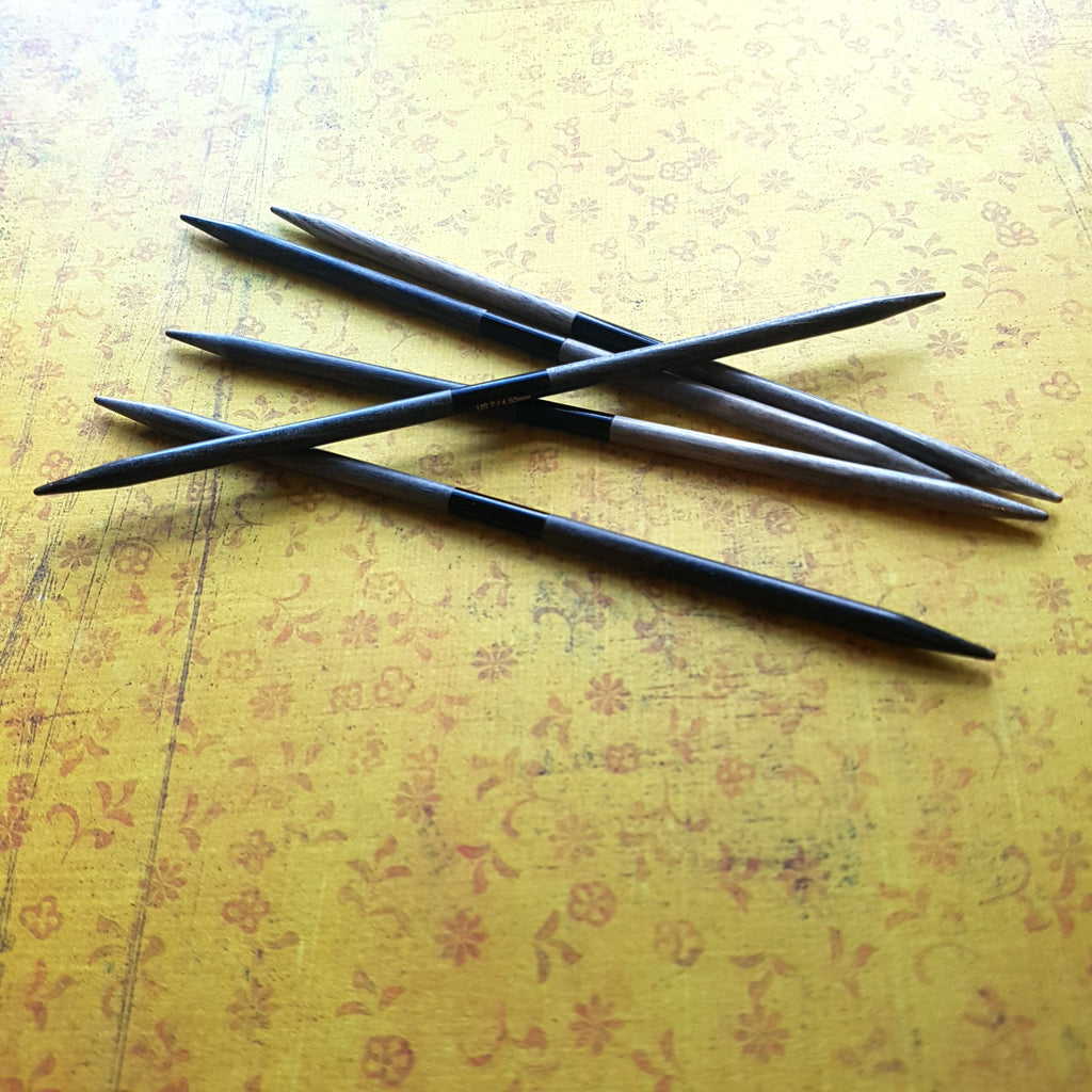 "LYKKE Driftwood 6""/15cm DPN Knitting Needles Set - Large Sizes"