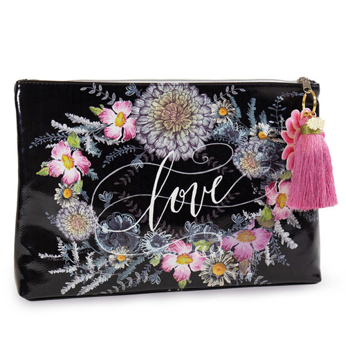 Love Large Pouch with Tassel