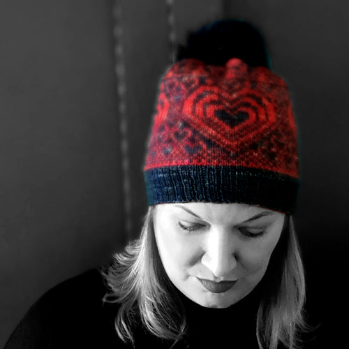 Hat Knitting Pattern - HFS Original - Downloadable PDF