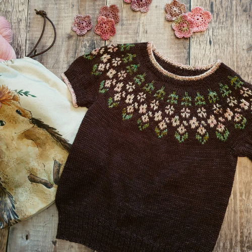 Little Alice in Bloom Sweater Pattern - HFS Original - Downloadable PDF