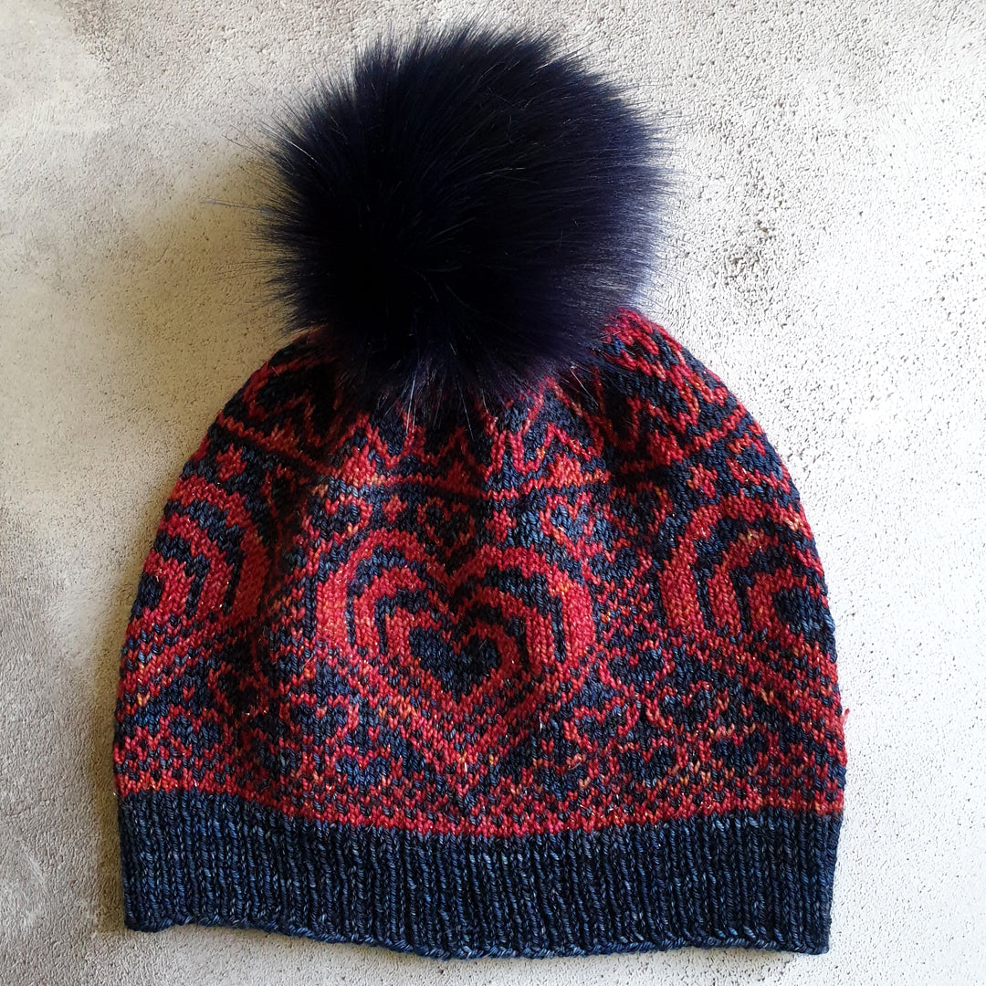 Love is Love, Actually Hat Knitting Pattern - HFS Original - Downloadable PDF