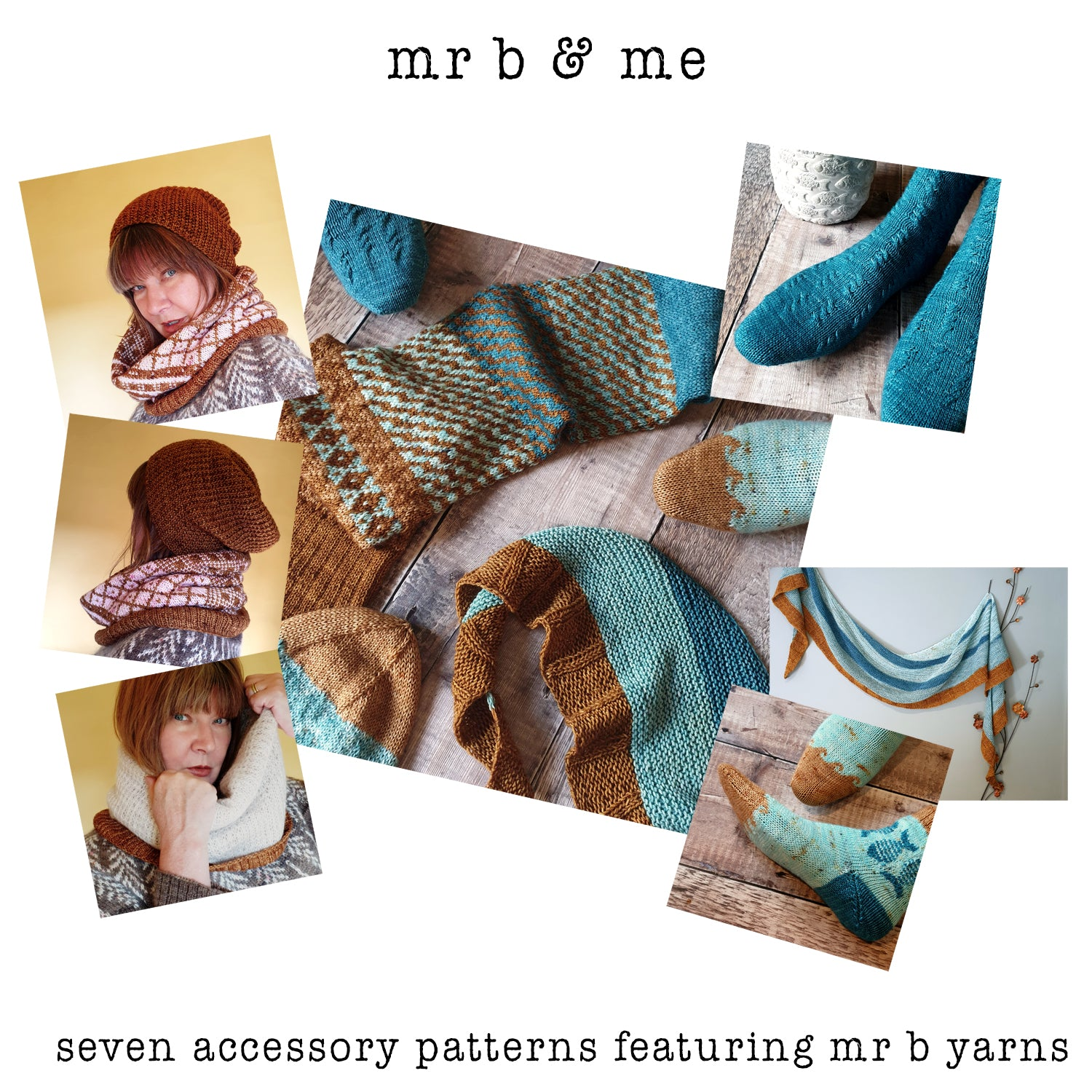 Mr B & Me ebook Collection of Knitting Patterns - HFS Original - Downloadable PDFs