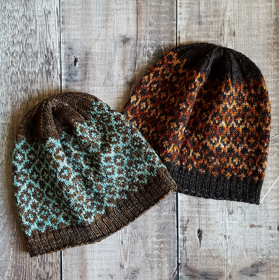 Reflections Collection - HFS Original Hat Knitting Patterns- Downloadable PDF
