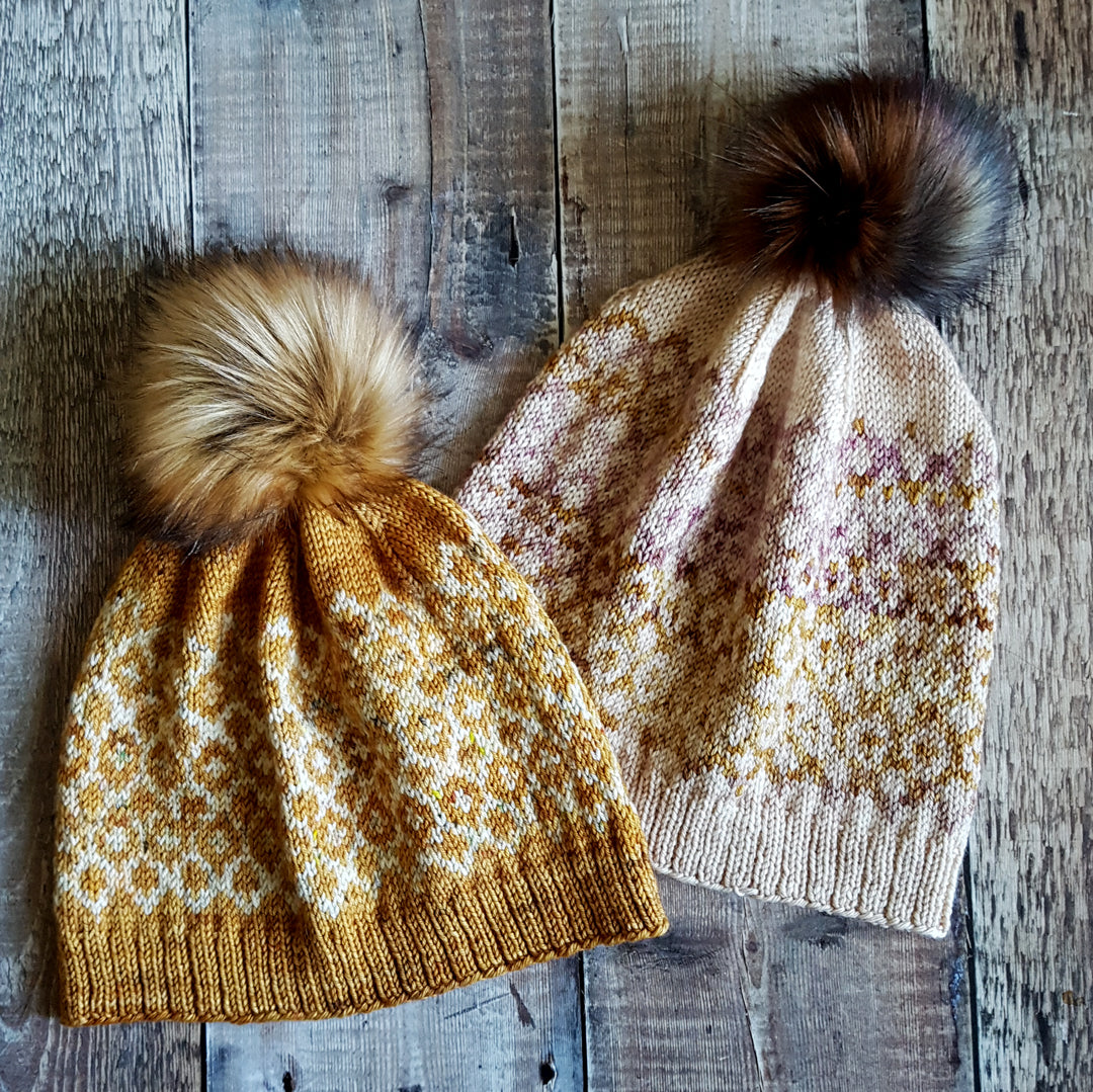 Reflections Hat Knitting Pattern (DK Version) - HFS Original - Downloadable PDF