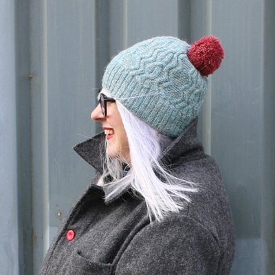 Hat Pattern - Sea Holly by Rachel Coopey - Print Pamphlet