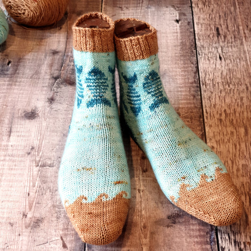 Snuff Mills Sock Pattern - HFS Original - Downloadable PDF