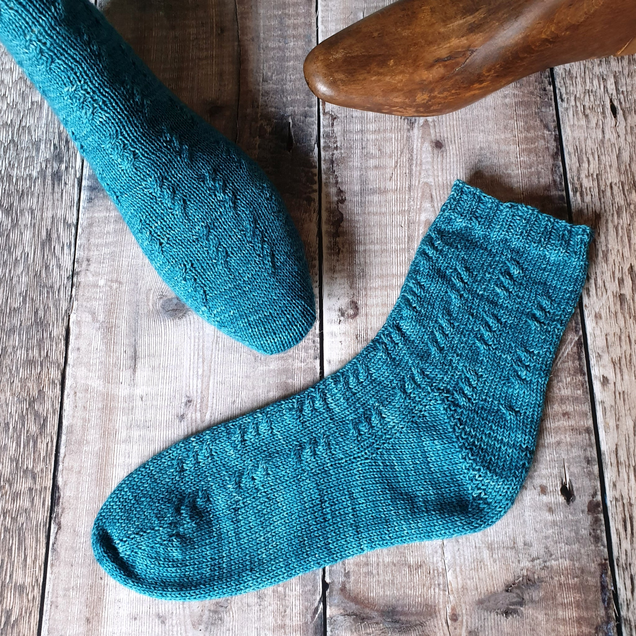 The Watershed Sock Pattern - HFS Original - Downloadable PDF
