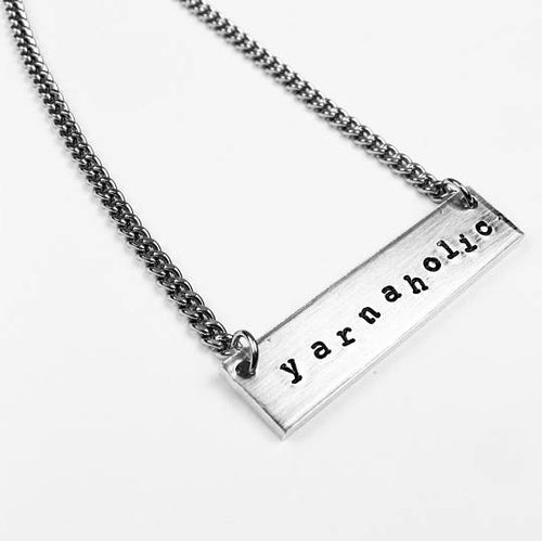 Yarnaholic Necklace