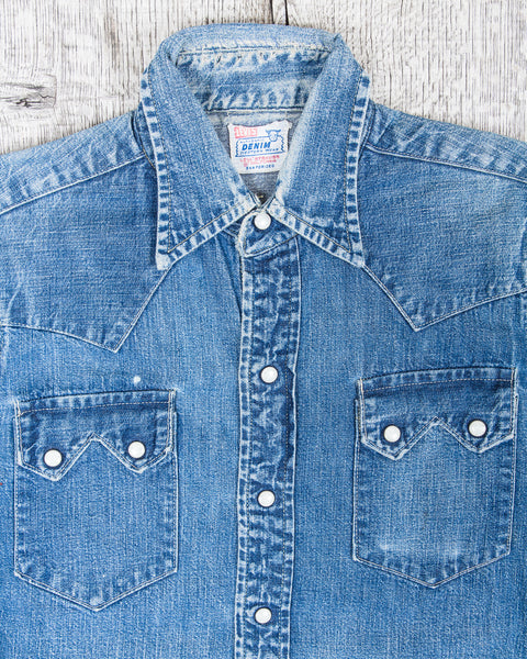 Second Sunrise Archive: 50s Levi's Shorthorn Denim Shirt