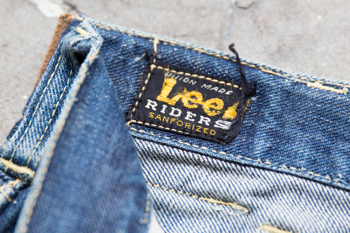 Second Sunrise Archive: Lee Rider Jeans