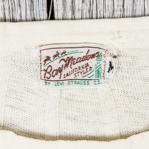 Second Sunrise Archive: Vintage Levi's Bay Meadows t-shirt