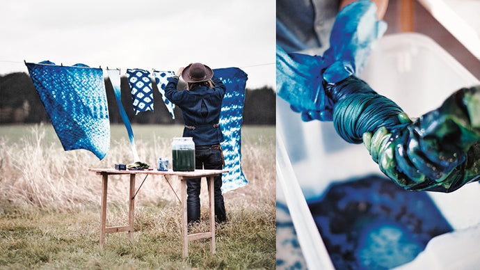 Upcoming events: Indigo book presentation at Fashion and Textile Museum, London