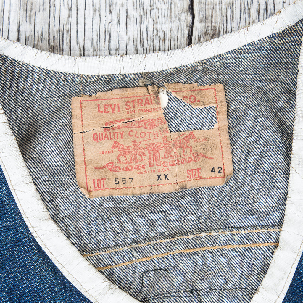 Levi's 557xx Label