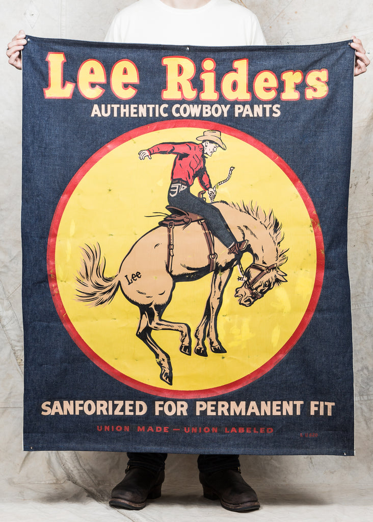 1c0d64b8a5a Second Sunrise Archive: Lee Riders Advertising Banner