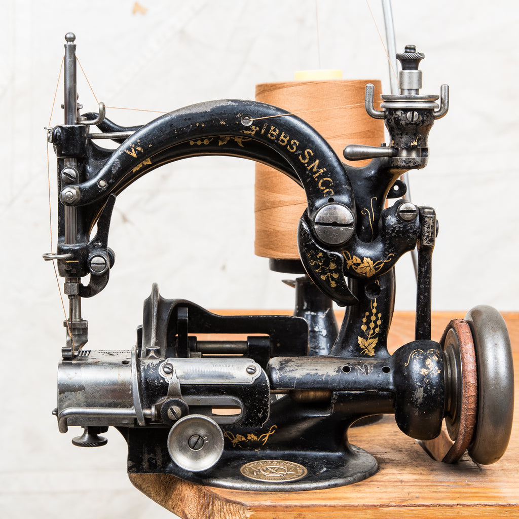 wilcox and gibbs sewing machines