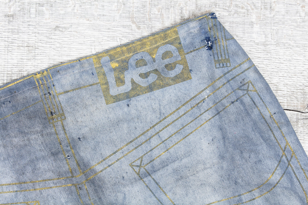 Giant Lee advertising jeans