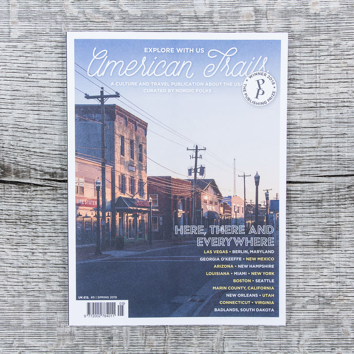 American Trails Magazine #5 English Edition