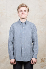 Warehouse & Co Long Sleeve Button Down Shirt Gingham Check