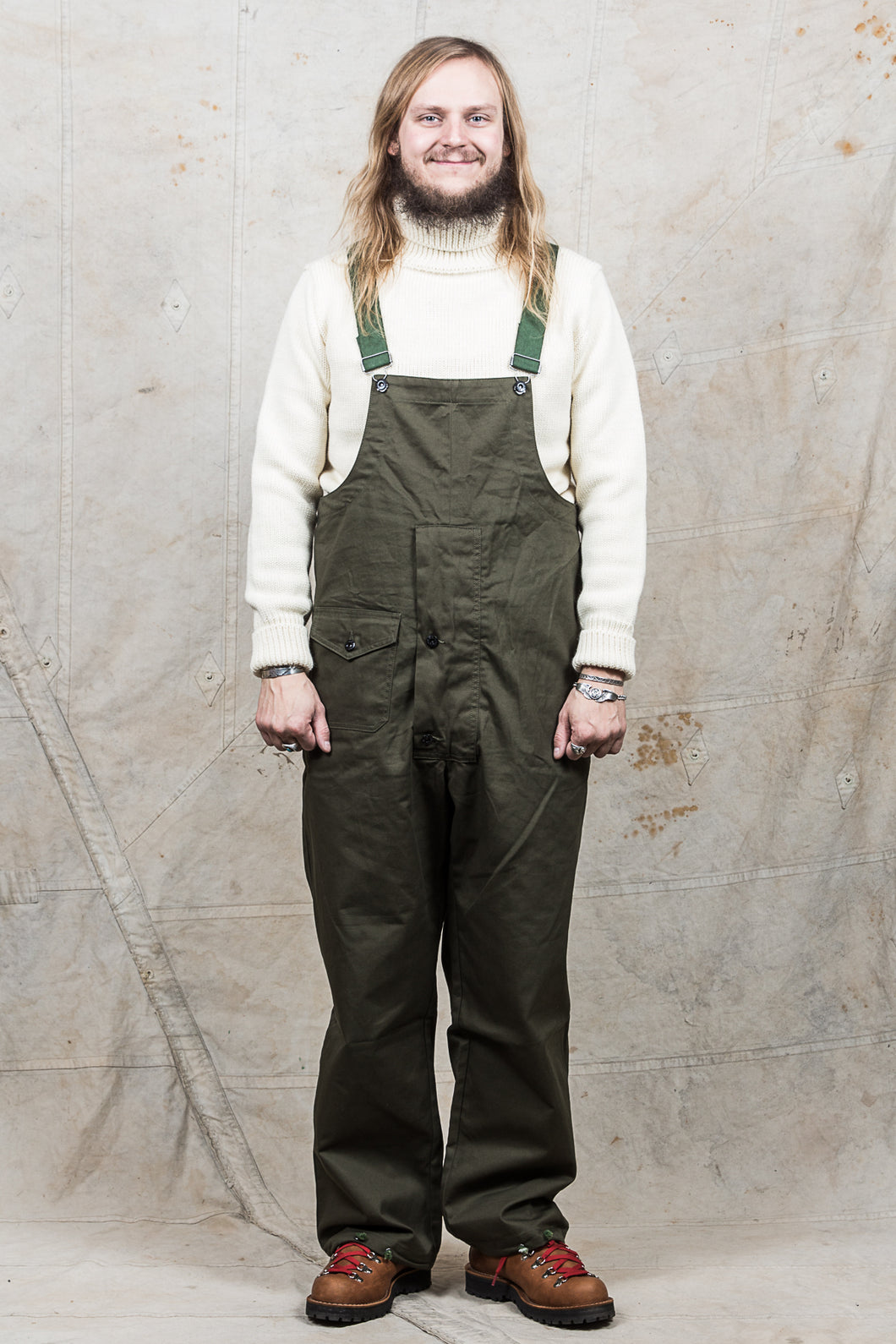 Workware Hong Kong USN Overall Heavy Weight Twill