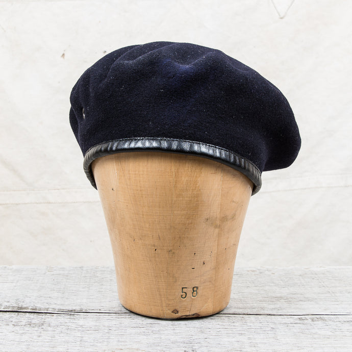 Vintage Swedish Army Wool Beret