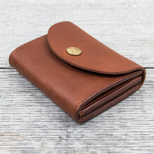 Larry Smith Multi Wallet Light Brown Steer Hide LT-0070